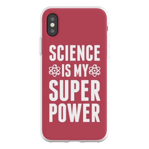 Science Is My Superpower Phone Flexi-Case