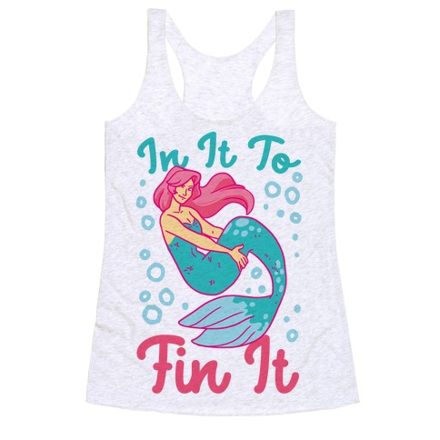In It to Fin It Racerback Tank Top