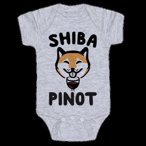 Shiba Pinot Baby Onesy