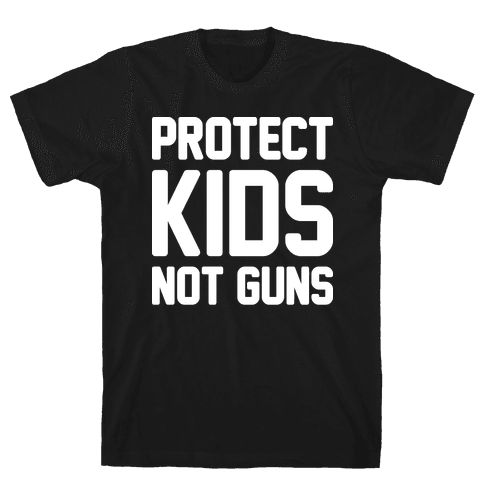 Protect Kids Not Guns Mens T-Shirt