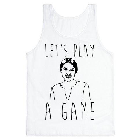 Let's Play A Game AOC Tank Top