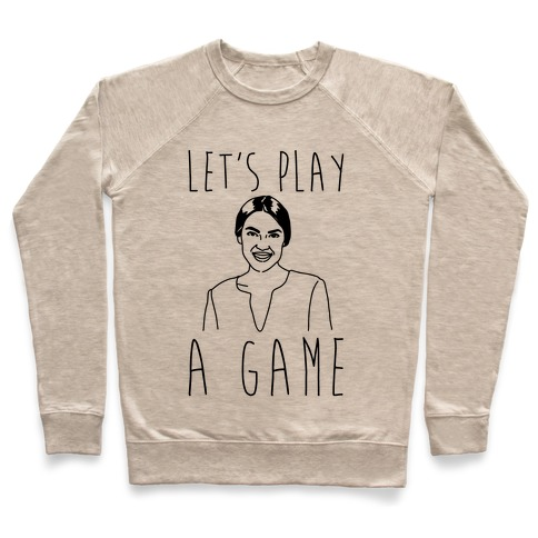 Let's Play A Game AOC Pullover