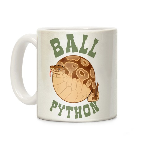 Ball Python Coffee Mug