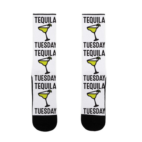 Tequila Tuesday Sock
