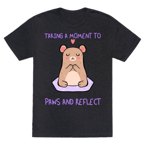 Taking A Moment To Paws And Reflect T-Shirt