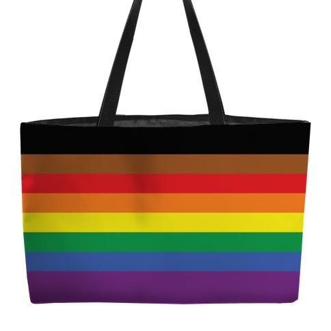 Gay Pride Flag Weekender Tote