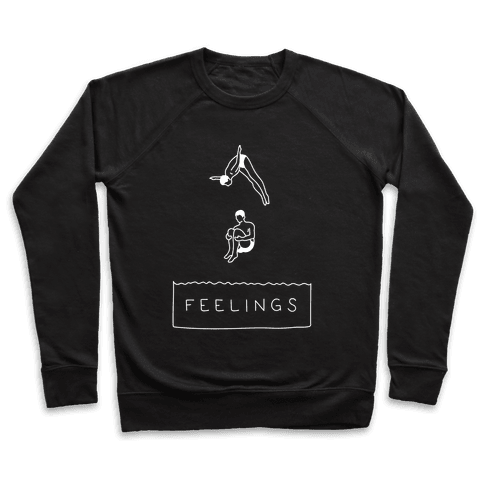 Diving Into Feelings Pullover
