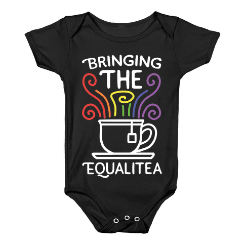 Bringing the Equalitea Baby Onesy