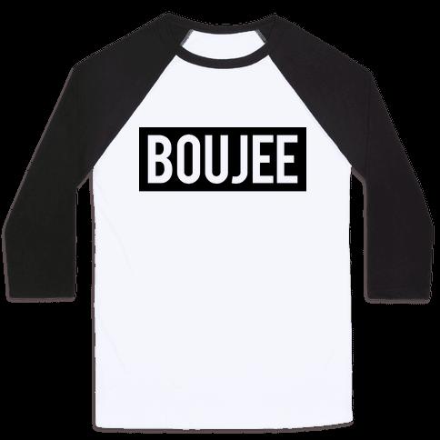Boujee (Bad and Boujee Pair) Baseball Tee