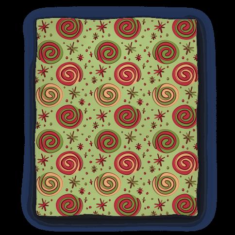 Christmas Pinwheel Cookies Blanket