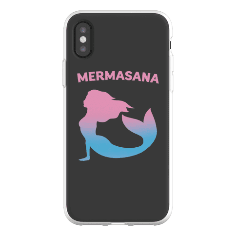 Mermasana Parody Phone Flexi-Case