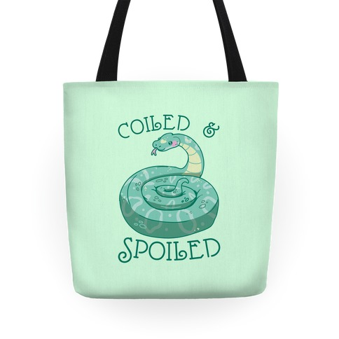 Coiled & Spoiled Tote