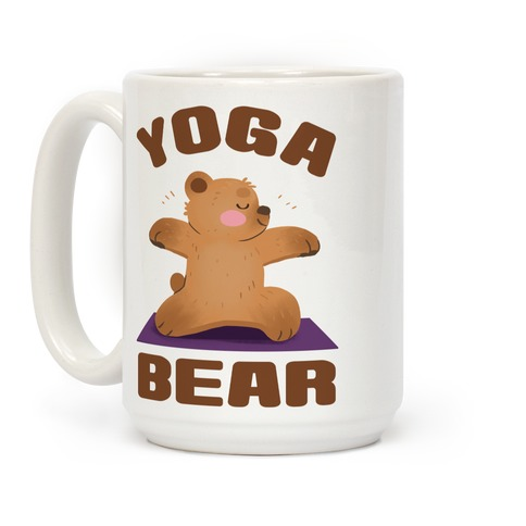 Yoga Bear Coffee Mug