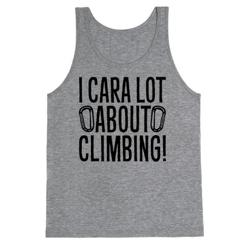 I Cara Lot About Climbing Tank Top