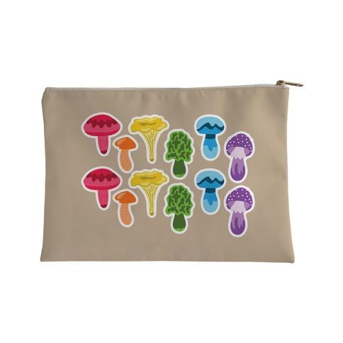 Gay Mushroom Pattern Accessory Bag