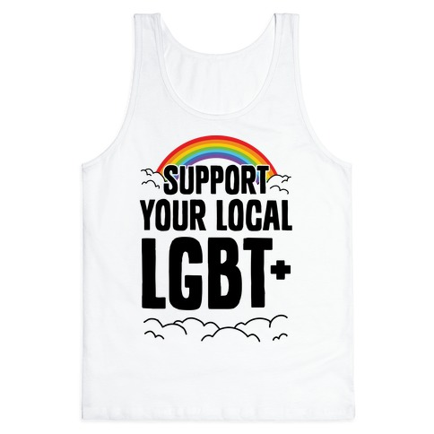 Support Your Local LGBT+ Tank Top