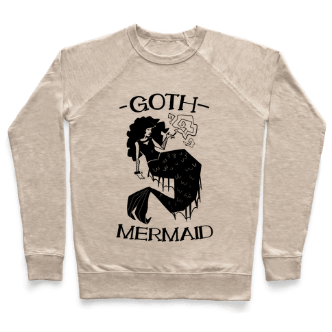 Goth Mermaid Pullover