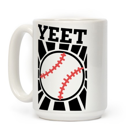 YEET - baseball Coffee Mug