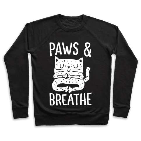 Paws And Breathe Yoga Cat Pullover