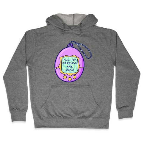 All My Friends Are Dead 90's Toy Hooded Sweatshirt