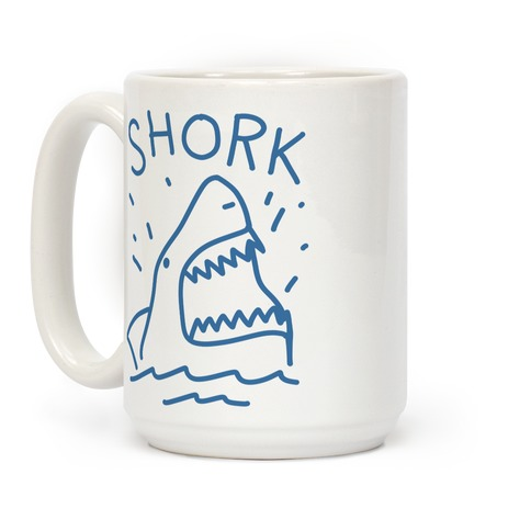 Shork Shark Coffee Mug