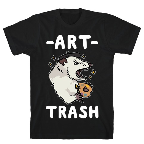 Art Trash Possum T-Shirt