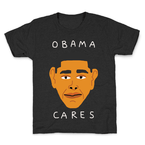Obama Cares Kids T-Shirt