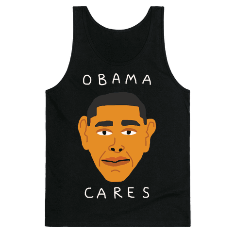 Obama Cares Tank Top
