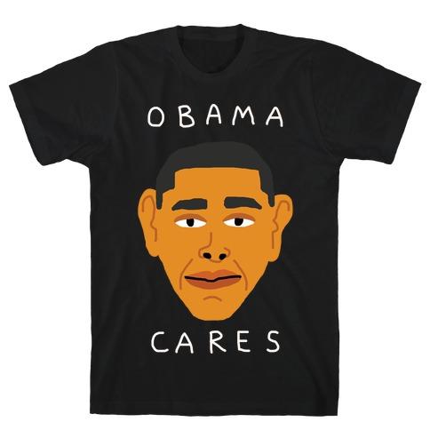Obama Cares T-Shirt
