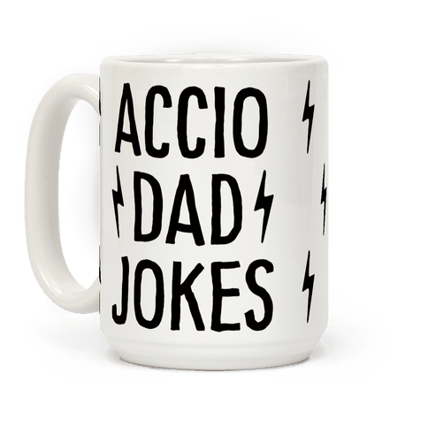 Accio Dad Jokes Coffee Mug