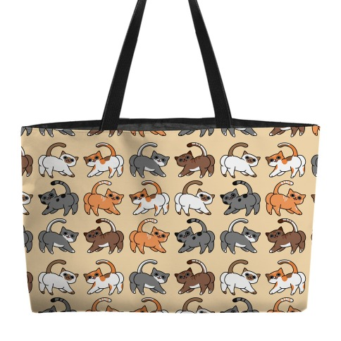 Cats With Buttcheeks Weekender Tote