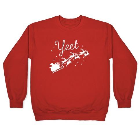Yeet Santa Sleigh Pullover