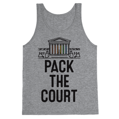 Pack The Court with Pride Tank Top
