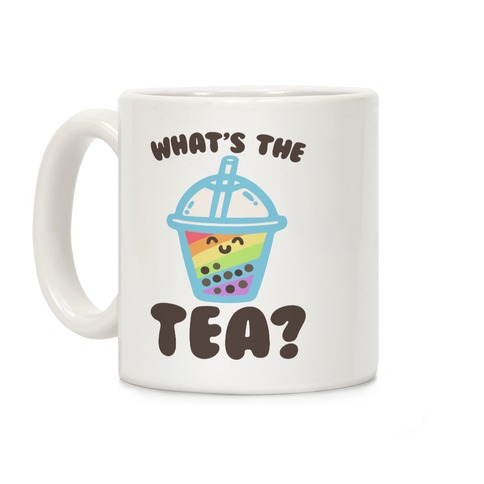 What's The Tea Bubble Tea Coffee Mug