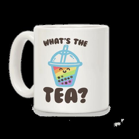 What's The Tea Bubble Tea Coffee Mug
