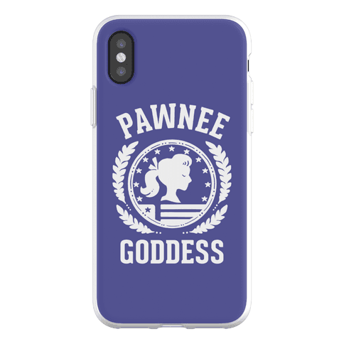 Pawnee Goddess (White) Phone Flexi-Case