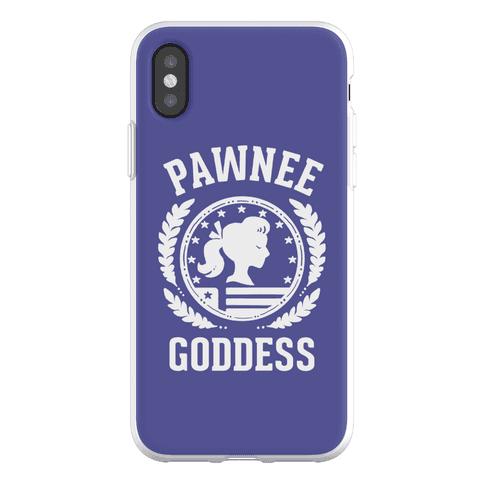 Pawnee Goddess (White) Phone Flexi-Case