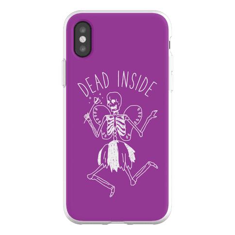 Dead Inside Skeleton Fairy Phone Flexi-Case
