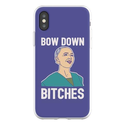 Bow Down Bitches Parody Phone Flexi-Case