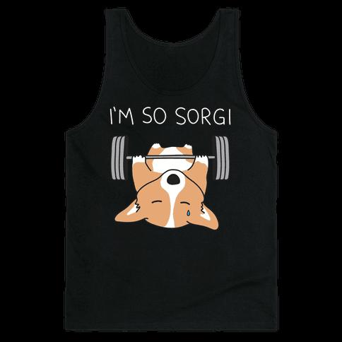 I'm So Sorgi Corgi Tank Top