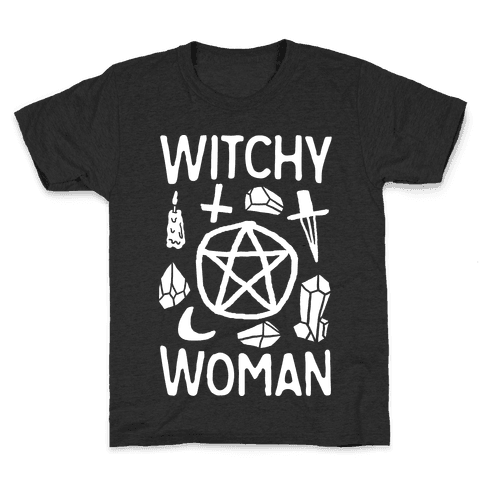 Witchy Woman Kids T-Shirt