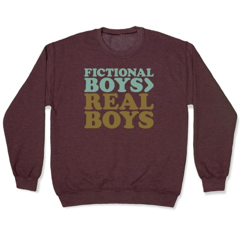 Fictional Boys > Real Boys White Print Pullover