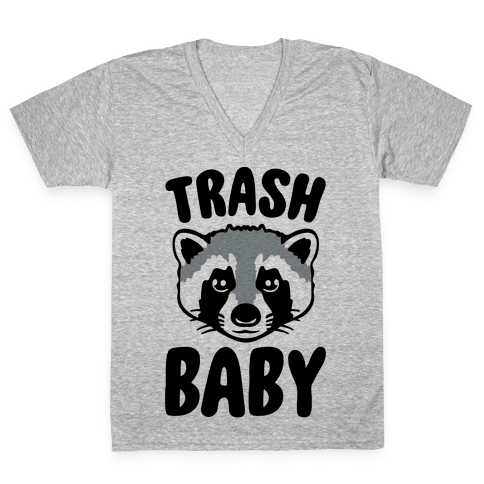 Trash Baby V-Neck Tee Shirt