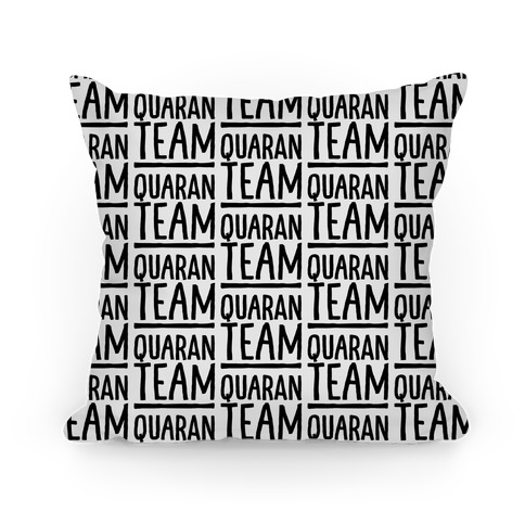 Quaranteam Pillow