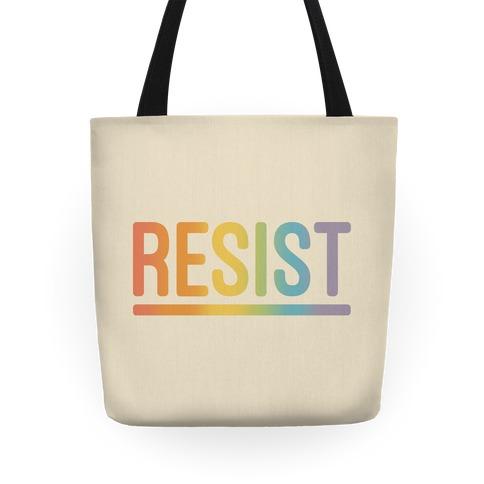 Rainbow Resist Tote