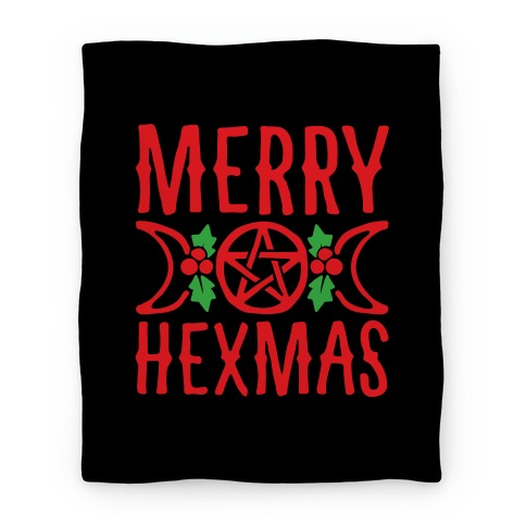 Merry Hexmas Parody Blanket