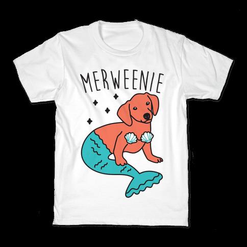 Merweenie Dachshund Kids T-Shirt