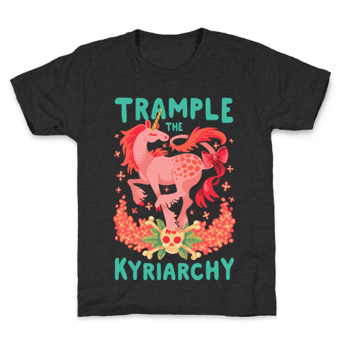 Trample the Kyriarchy Kids T-Shirt