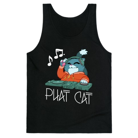 Phat Cat Tank Top