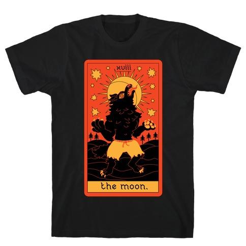 The Moon Werewolf Tarot T-Shirt